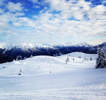 Skifahren auf dem Zoncolan
